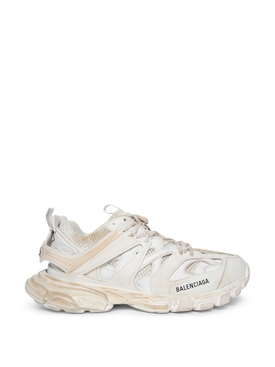 FADED TRACK SNEAKER WHITE