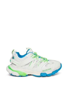Track Multi-panel Sneaker White and Green