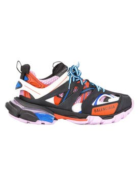 Balenciaga - Track Sneakers Black Orange Pink - Women