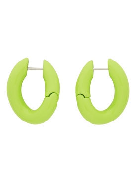 ear loop earring LEAF GREEN