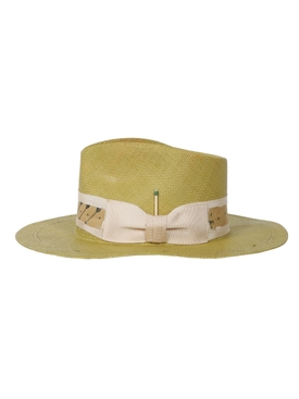 Espuma del Mar neutral fedora straw hat