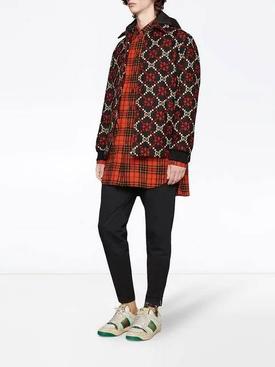 Macro GG diamond wool jacket