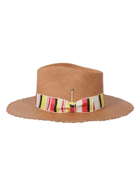 Sonora Desert brown fedora straw hat
