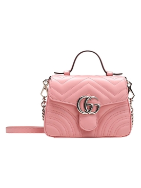Pink Small GG Marmont bag