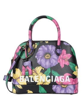 Small floral Ville top handle bag