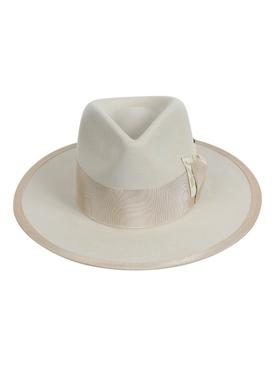 Petit Papillon Hat, Bone Yard White