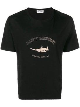 Saint Laurent - Free Bird Tour T-shirt - Men