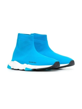 Kids turquoise speed sneakers