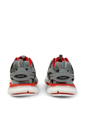 Track LED Sneaker Grey and Red