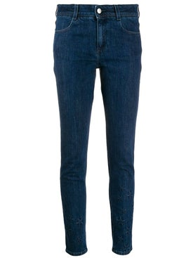 Stella Mccartney - Star-embossed Skinny Jeans - Women