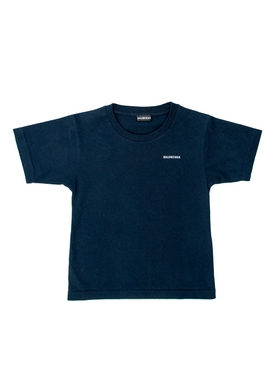 Balenciaga - Kids Navy Blue T-shirt - Kids