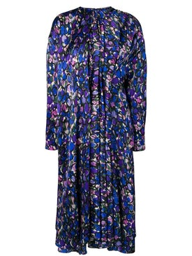 Balenciaga - Pulled Print Dress - Women