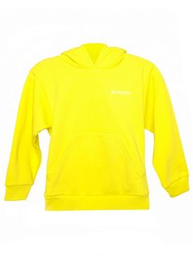 Kid's Hoodie Sweatshirt Yellow and White