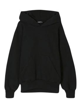 Kids logo hoodie WASHED BLACK
