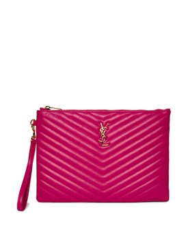 MONOGRAM IPAD TABLET POUCH FUCHSIA COUTURE