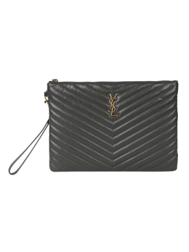 Leather quilted tablet case