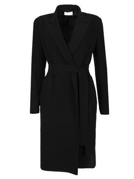Belted Harri Coat Black