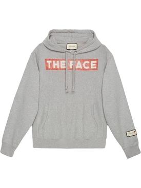 """THE FACE"" HOODED SWEATSHIRT"