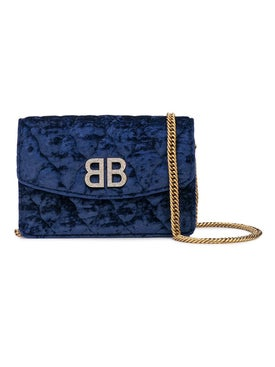 Balenciaga - Velvety Bb Wallet On Chain - Shoulder Bags