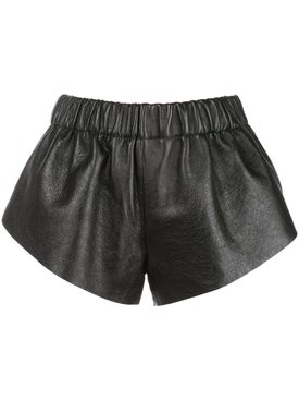 Saint Laurent - Elasticated Waist Mini Shorts - Women