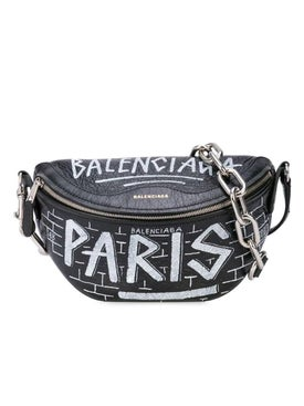 Balenciaga - Souvenir Graffiti Belt Bag - Women