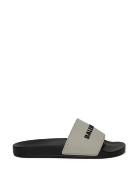 Pool Slide Sandal Grey