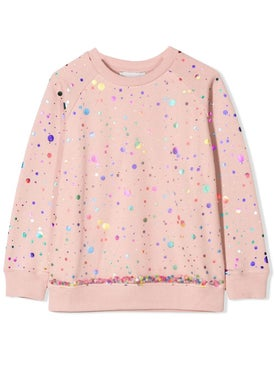 Stella Mccartney - Sequined Sweatshirt - Kids