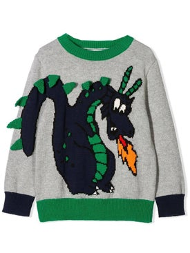 Stella Mccartney - Kids Dragon Jumper - Kids
