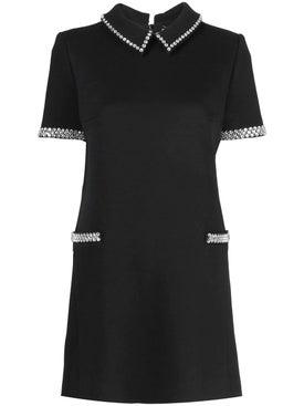 Saint Laurent - Short-sleeve Embellished Dress - Women