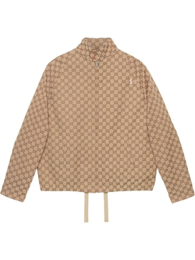 GG canvas bomber jacket