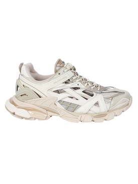 Track low-top sneakers NUDE