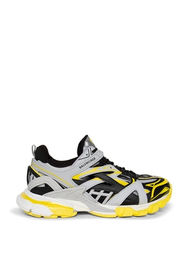 Track Sneakers White, Black, Grey And Yellow