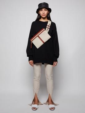Clelia Oversized Wool-cashmere Sweater Black