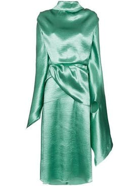 Christopher Kane - Tie-back Satin Dress - Women