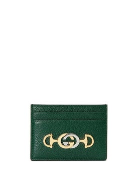 Gucci - Gucci Zumi Card Case Green - Women