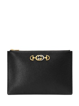 Gucci - Zumi Pouch Black - Clutches
