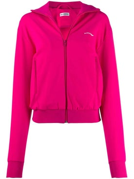 Balenciaga - Fuchsia Zip-up Cropped Jacket - Women