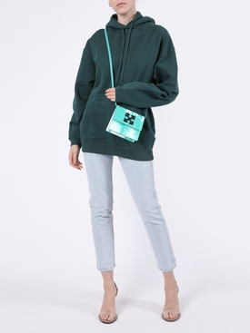 Cypress green logo hoodie