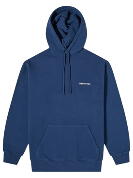Medium Fit Logo Hoodie BLUE