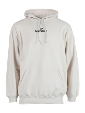 Medium Fit Hoodie CHALKY WHITE