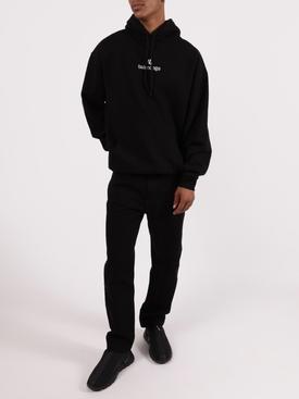Medium Fit Hoodie BLACK