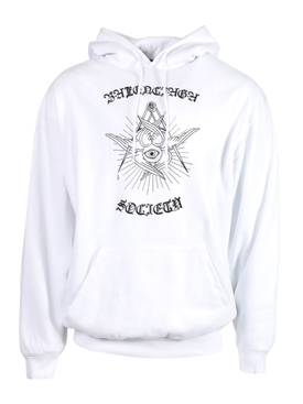 Medium Fit hoodie, White