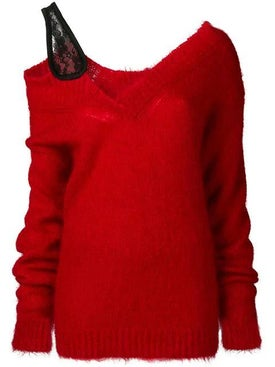 Christopher Kane - V Neck Mohair Sweater - Women