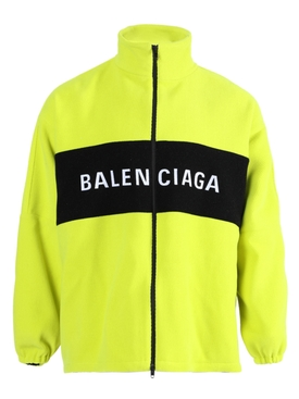 Balenciaga - Neon Yellow Logo Jacket - Men