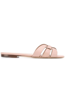 Nude Tribute flat leather sandals