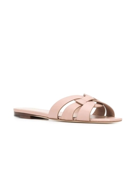 Nude Pink Tribute Slide sandals