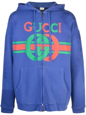 Sweatshirt with Interlocking G print MULTICOLOR