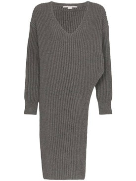 Stella Mccartney - Grey Side Slit Sweater - Women