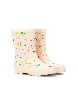 Stella Mccartney - Kids Dotted Wellies - Kids