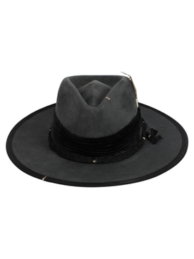 Steel Grey Fedora